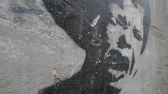 Graffiti near Galata Kulesi, Istanbul