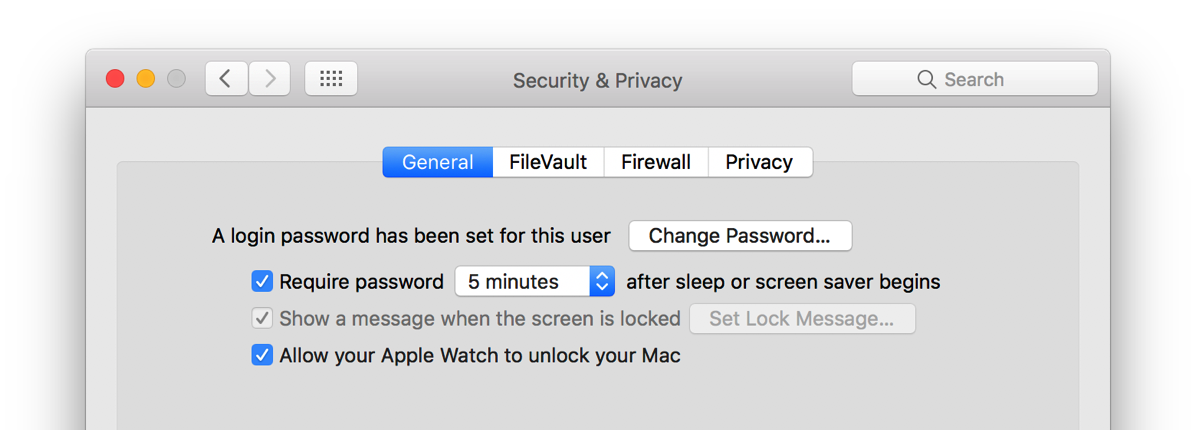 Allow your Apple Watch to unlock your Mac» not showing up after