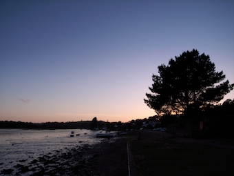 Devoran Quay at Sunset looking North West