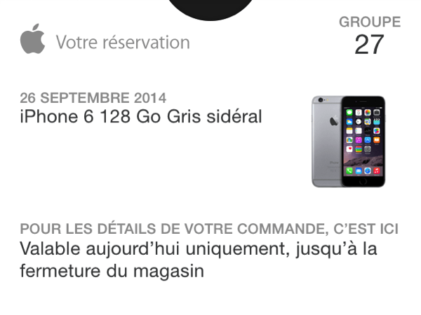 Apple store passbook