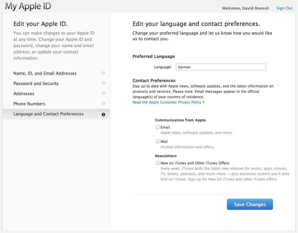apple help email address
