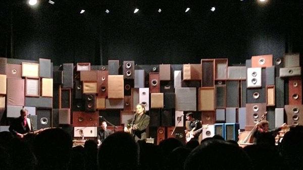 Stephan Eicher in concert at ThíƒÂ´nex 2012