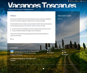 Vacances Toscanes
