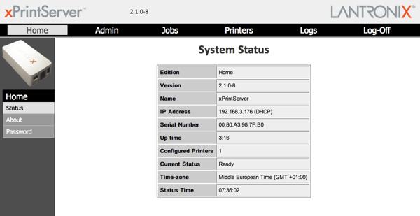 Xprintserver admin01