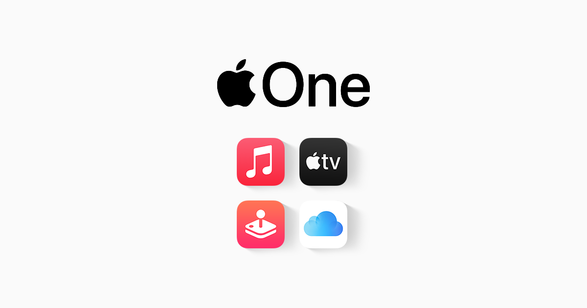Apple One offering in Switzerland : Apple Music, TV Plus, Arcade and extra iCloud storage